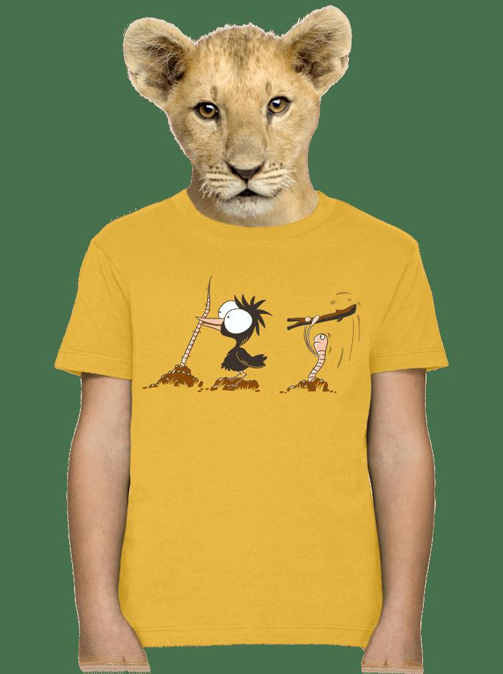 Nesprávny koniec detské tričko