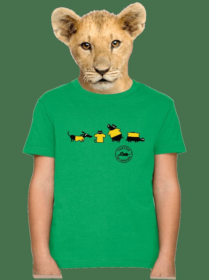 Testované detské tričko