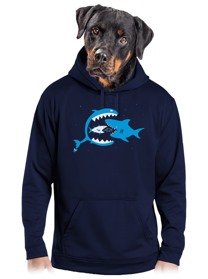 Rybky pánska mikina