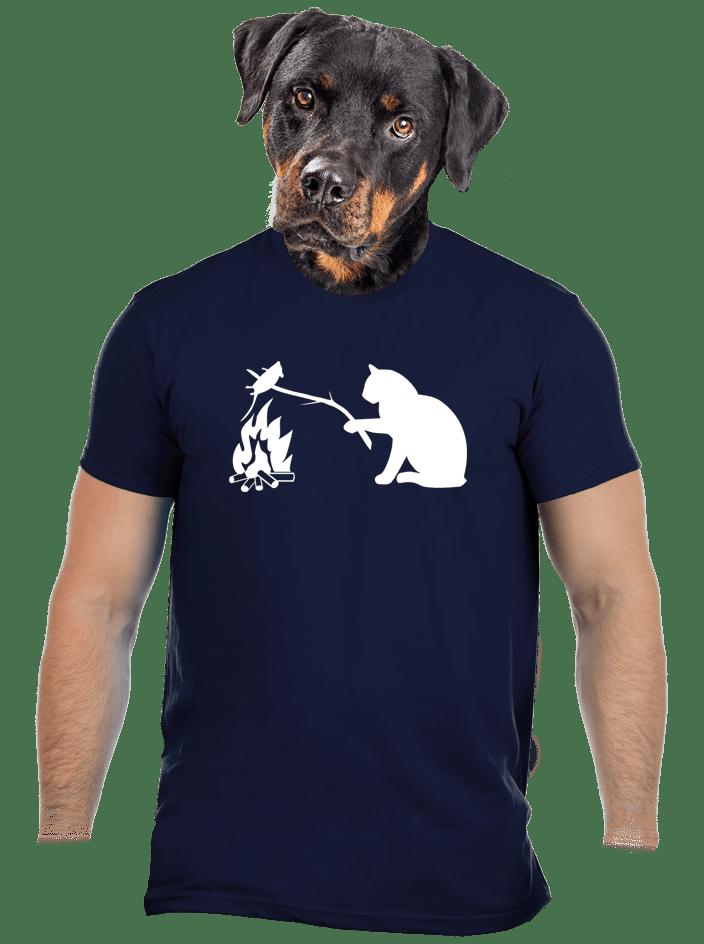 Mačka a myš pánske tričko
