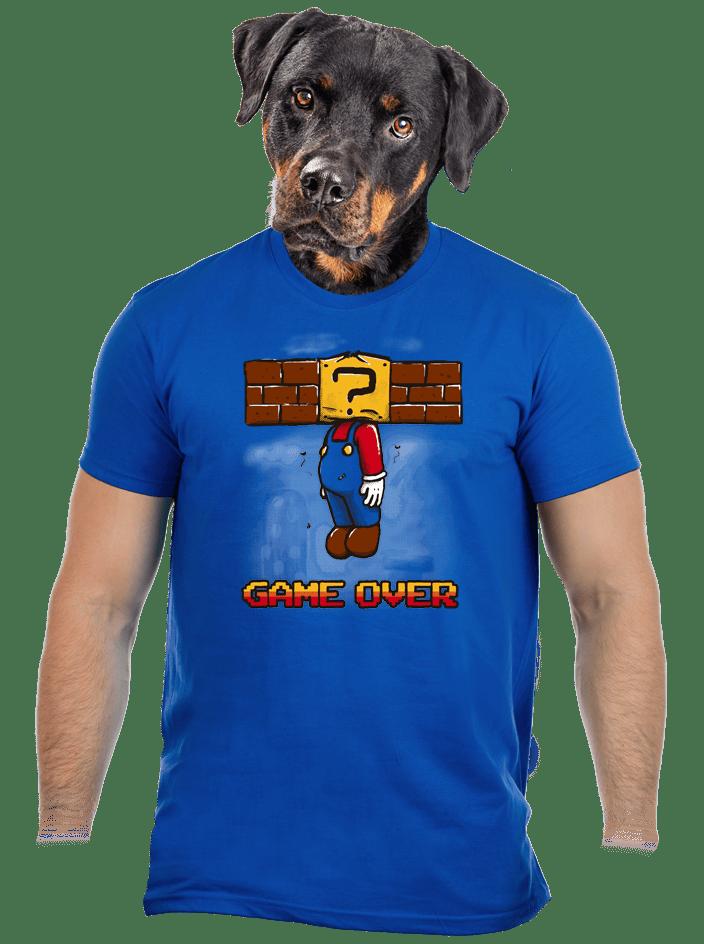 Game over pánske tričko