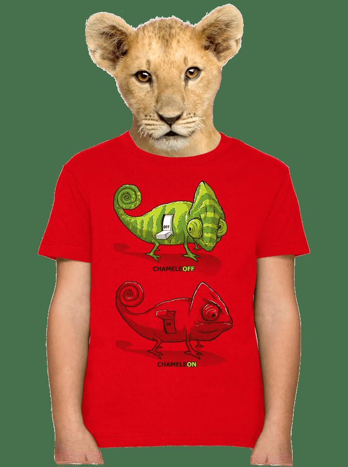 Zapnuté vypnuté detské tričko